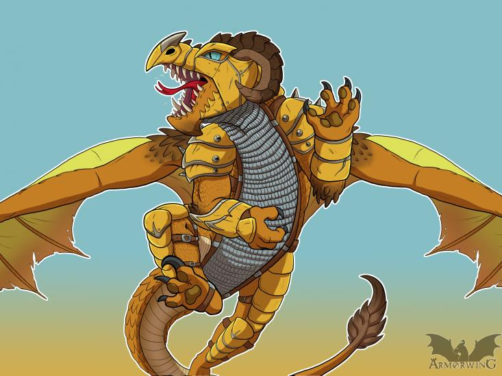 Smaugust: Desert Battle Dragon