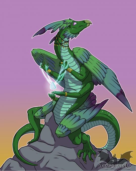 Smaugust Challenge: Magic Mountain Dragon