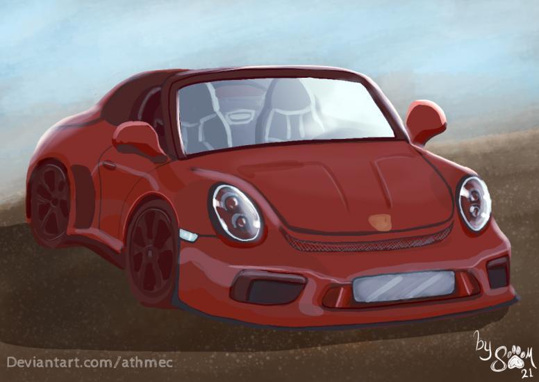 Porsche for a challenge