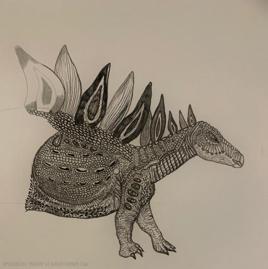 WIP - Stegosaurus