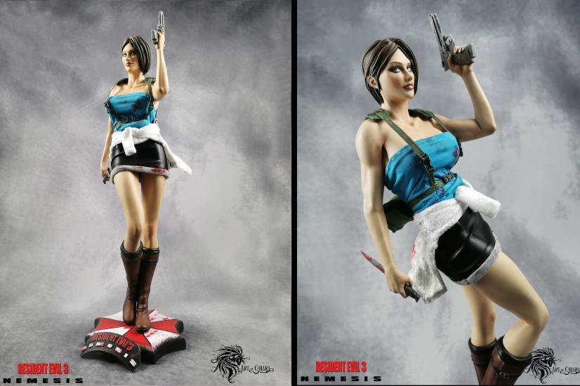Jill Valentine (Resident Evil 3 Nemesis) resin sta