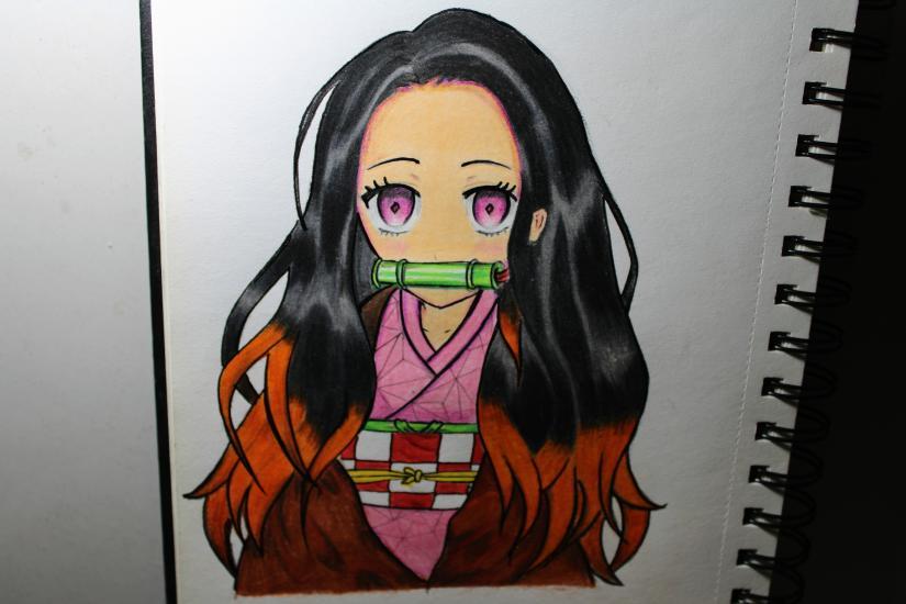 Anime character, Nezoku (Demon slayer)