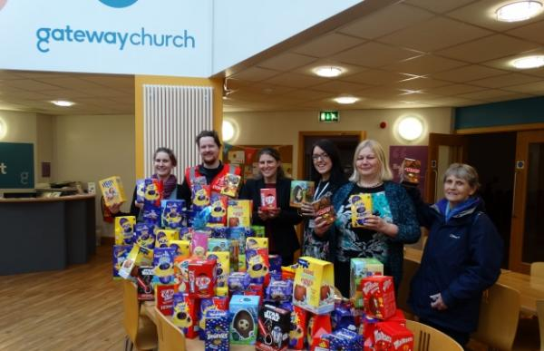 Yt Easter Eggs Donated To York Food Bank