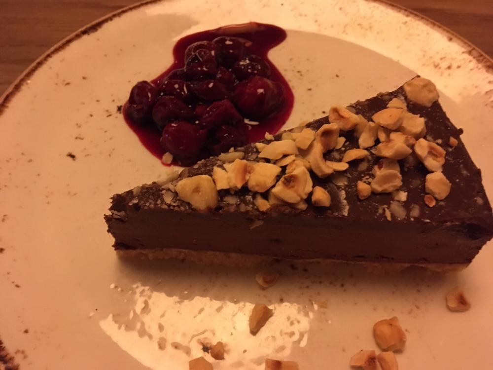 Chocolate and Hazelnut cheesecake