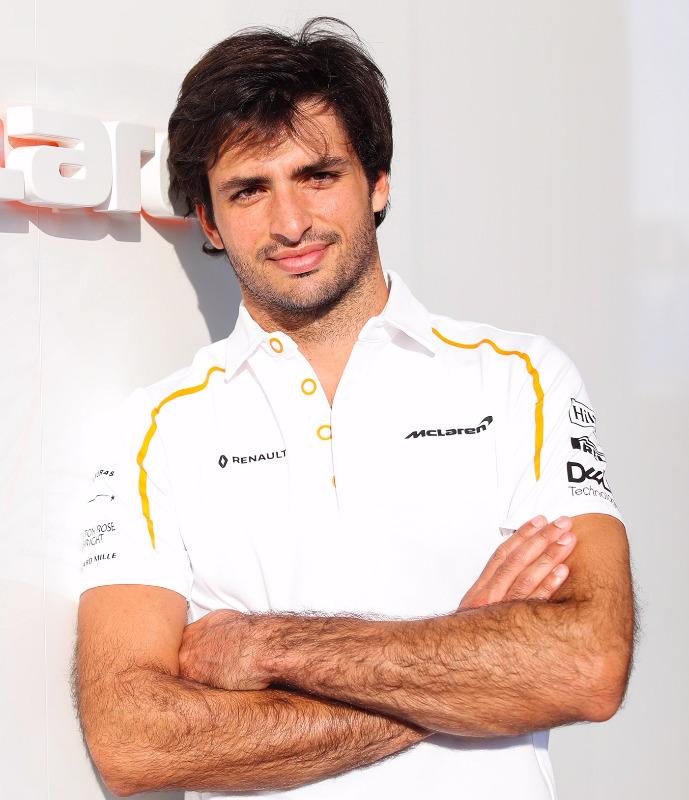 McLaren's Carlos Sainz is no doubt also on the Scuderia's shortlist
