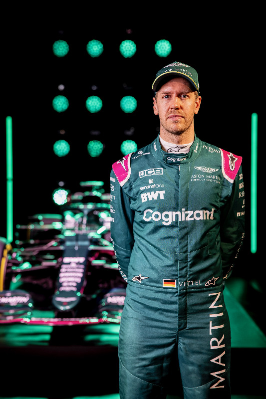Sebastian Vettel is fired up and hoping for much better times with his new team