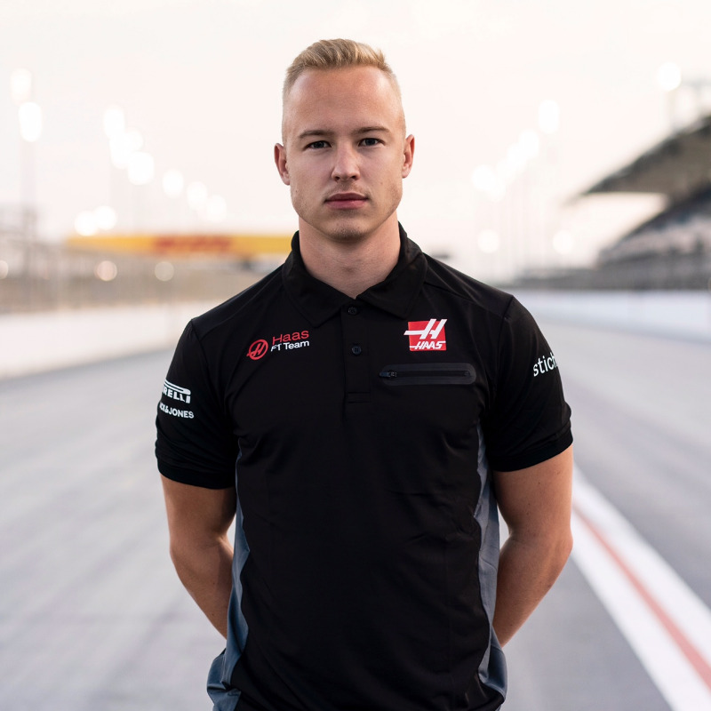 Nikita Mazepin, one of two F1 rookies at Haas this season