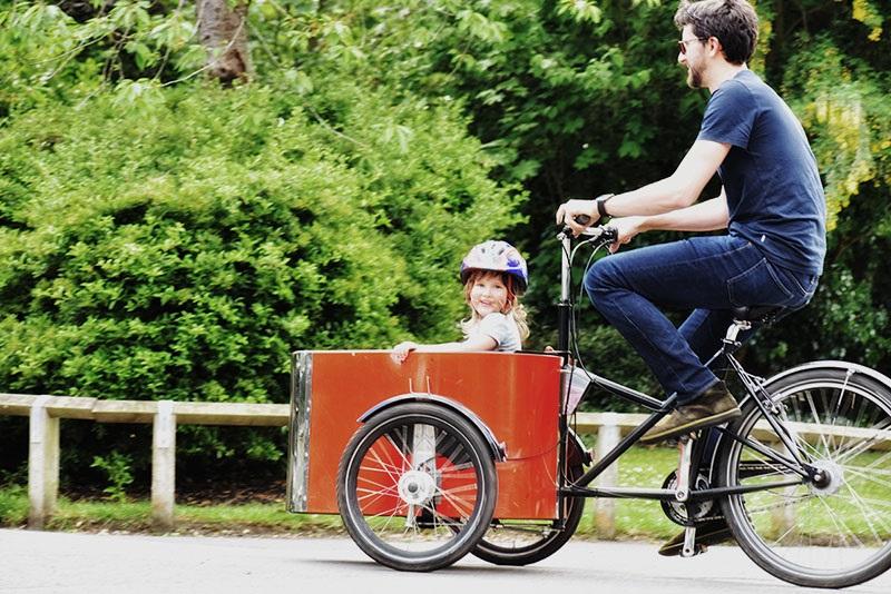 Bike hire in Dulwich Park