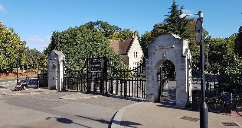 Dulwich Park Sun Gate