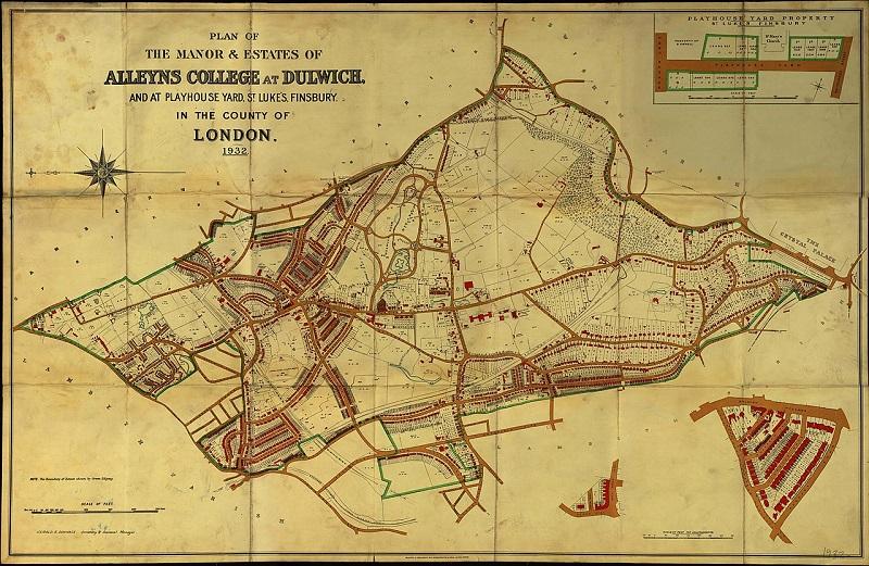 Dulwich College Estate map