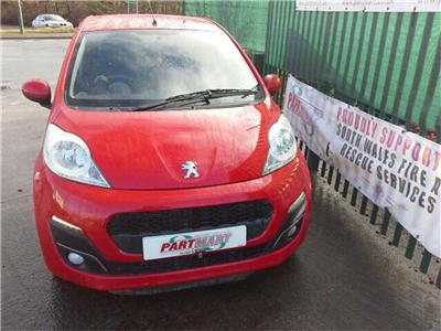2014 Peugeot 107 2012 On 3 Door Hatchback
