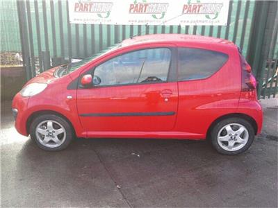 2014 Peugeot 107 3 Door Hatchback
