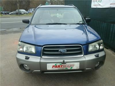 2004 SUBARU FORESTER X All-Weather