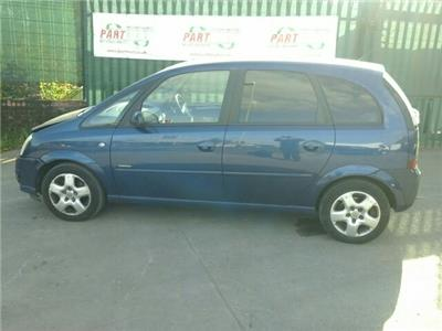 2007 Vauxhall Meriva 5 Door Hatchback