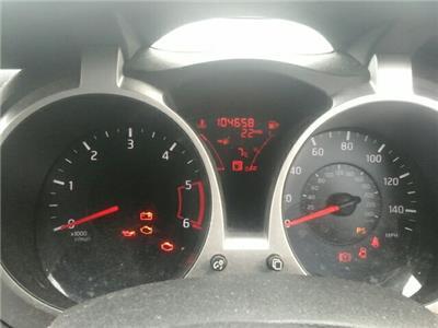 2012 Nissan Juke 5 Door Hatchback