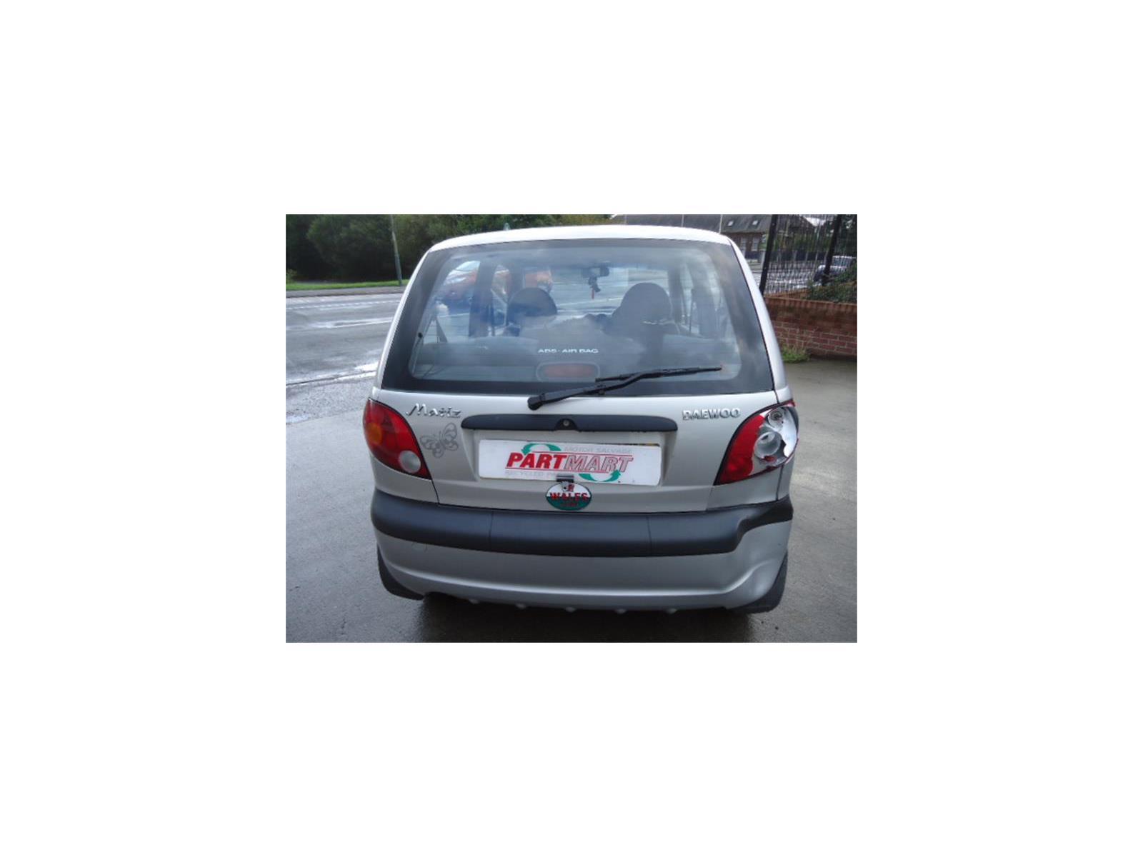 2004 Daewoo Matiz 1998 To 5 Door Hatchback Petrol Manual