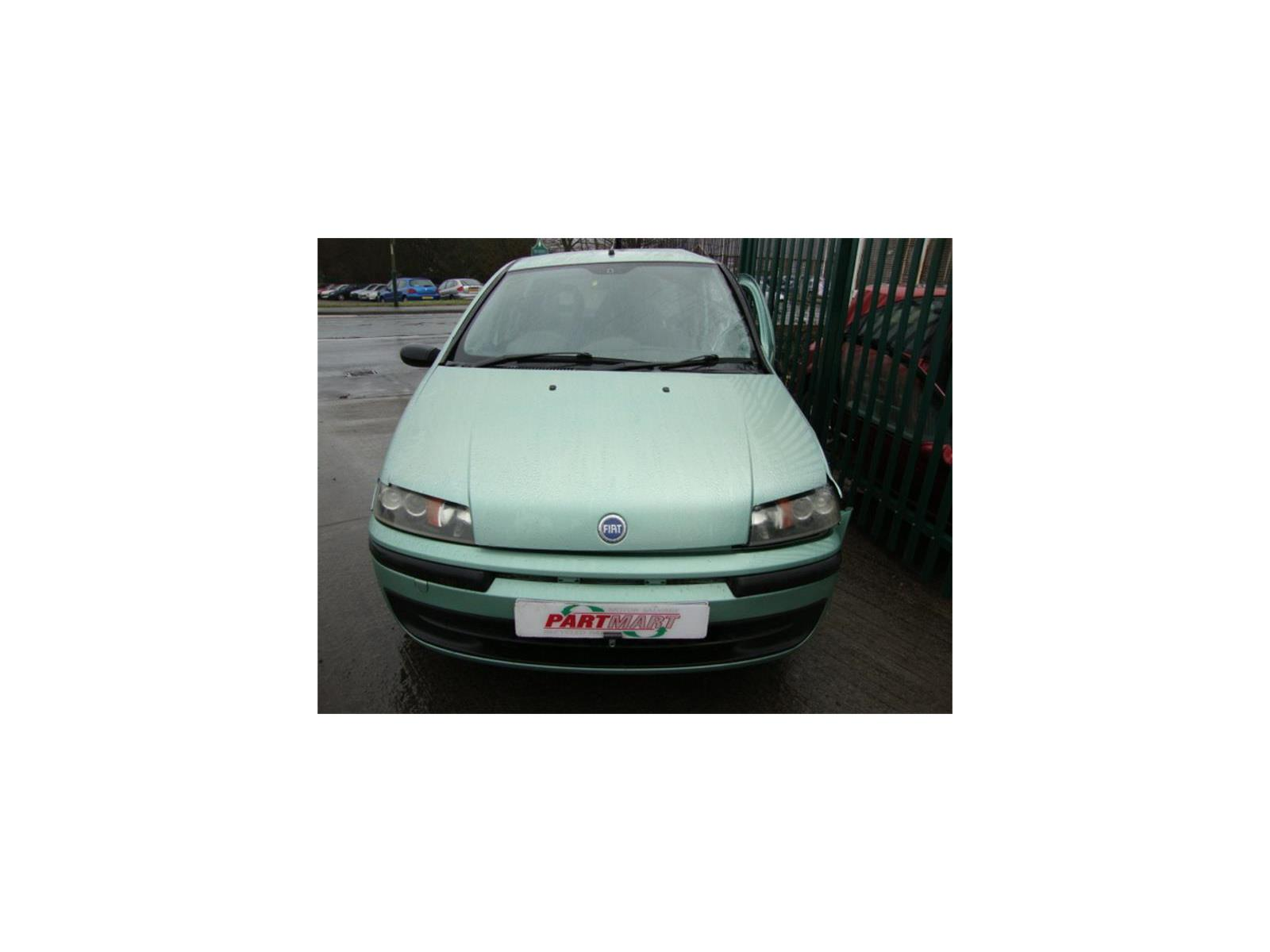 2002 Fiat Punto 2002 To 2003 5 Door Hatchback (Petrol / Manual