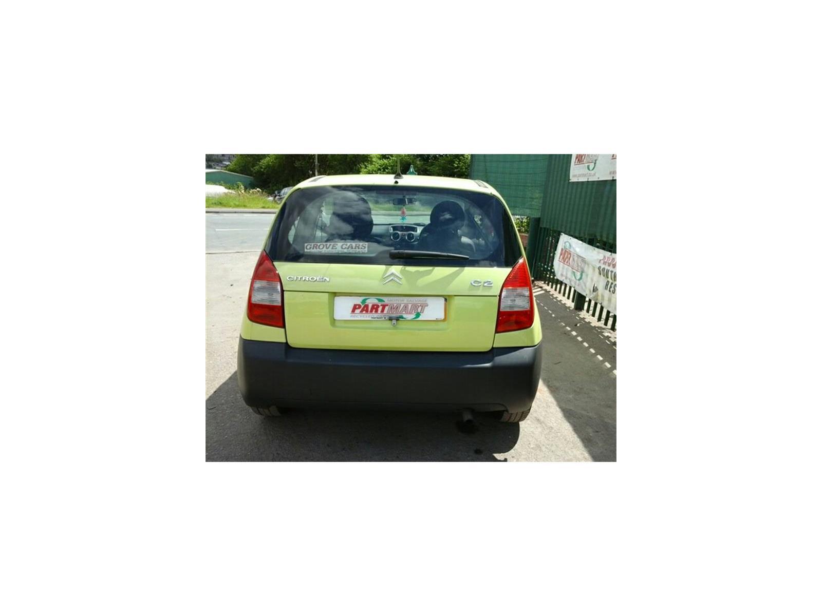 ... Citroen C2 2003 To 2008 3 Door Hatchback ...