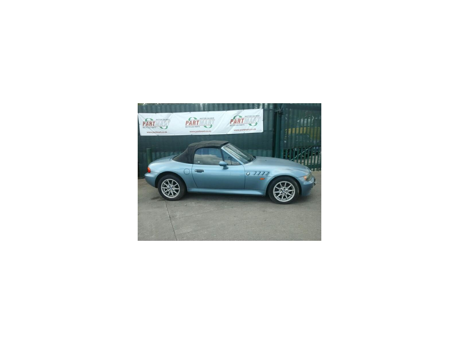 1998 Bmw Z3 1997 To 2003 2 Door Cabriolet Petrol Manual Breaking For Used And Spare Parts From Partmart Automotive Recycling Ltd Motor Salvage Recycled Parts In Hengoed Wales In Wales
