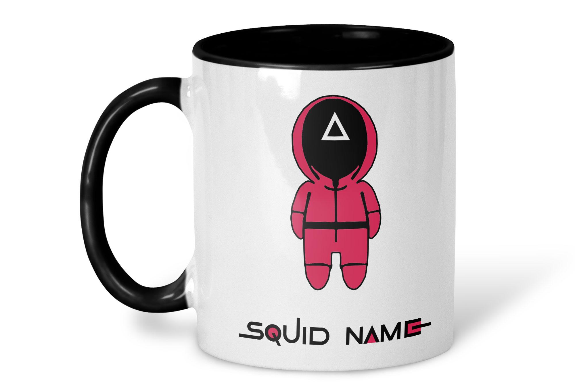 Squid Game Personalised Mug on white background