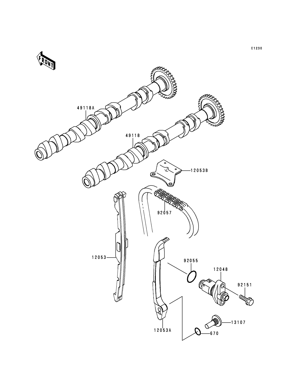 Camshaft(s)/Tensioner