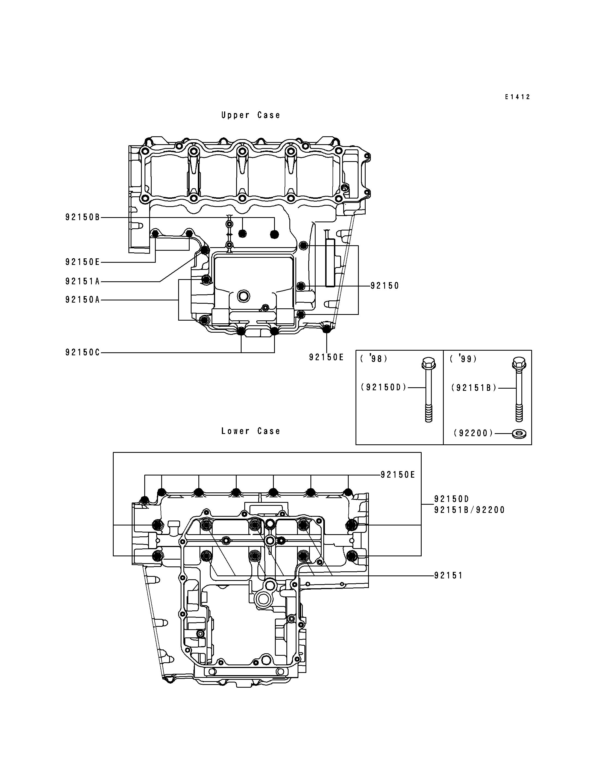 Crankcase Bolt Pattern