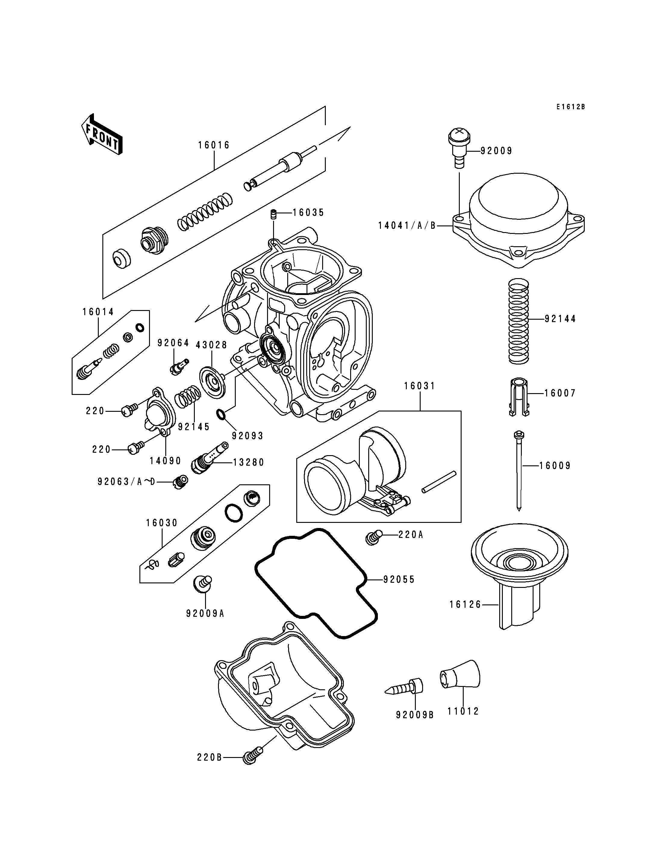 Carburetor PartsZX900CE026342-