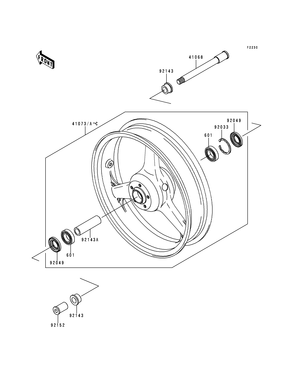 Front Hub