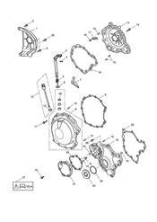 triumph motorcycle  Sprint GT triumph parts section Engine Covers