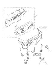 triumph motorcycle  Sprint GT triumph parts section Instruments