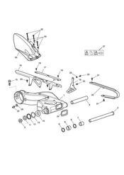 triumph motorcycle  Sprint GT triumph parts section Rear Swinging Arm