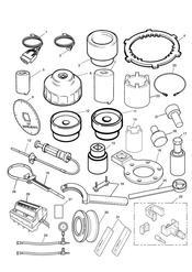 triumph motorcycle  Sprint GT triumph parts section Service Tools