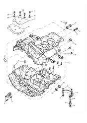 triumph motorcycle  TIGER 885i 71699 > 124105 triumph parts section Crankcase
