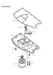 triumph motorcycle  TIGER 885i 71699 > 124105 triumph parts section Sump