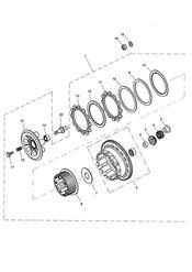 triumph motorcycle  Tiger 955i 198875 - 287503 triumph parts section Clutch Eng No 232539 gt