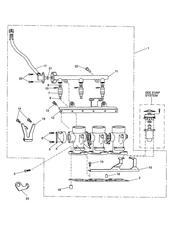 triumph motorcycle  Tiger 955i 198875 - 287503 triumph parts section Throttles Injectors amp Fuel Rail Eng No 207447 gt