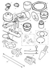 triumph motorcycle  Tiger 955i 198875 - 287503 triumph parts section Service Tools