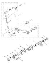 triumph motorcycle  Trophy 1215 triumph parts section Gear Change Mechanism