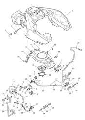 triumph motorcycle  Trophy 1215 triumph parts section Fuel Tank amp Fittings