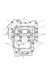 triumph motorcycle  Daytona 675R from VIN: 564948 triumph parts section Crankcase Bolts