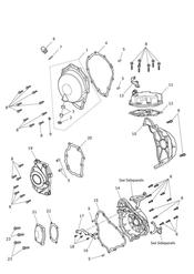 triumph motorcycle  Daytona 675R from VIN: 564948 triumph parts section Engine Covers
