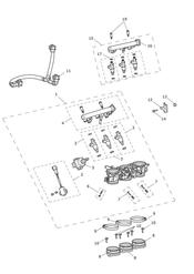 triumph motorcycle  Daytona 675R from VIN: 564948 triumph parts section Throttles Injectors and Fuel Rail