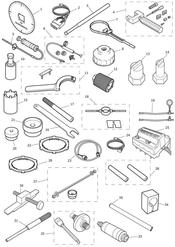 triumph motorcycle  Daytona 675R from VIN: 564948 triumph parts section Service Tools