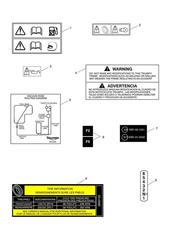 triumph motorcycle  Thunderbird Storm triumph parts section Warning Labels