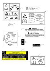 triumph motorcycle  Tiger 800 XC upto VIN: 674841 triumph parts section Warning Labels