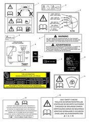 triumph motorcycle  Sprint GT triumph parts section Warning Labels
