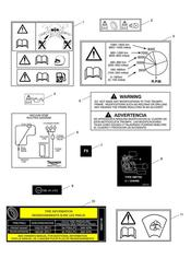 triumph motorcycle  Tiger Sport upto VIN: 570058 triumph parts section Warning Labels