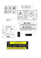 triumph motorcycle  Street Triple R from VIN 560477 triumph parts section Warning Labels