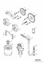 triumph motorcycle  AMERICA (Carbs) triumph parts section Lubrication System