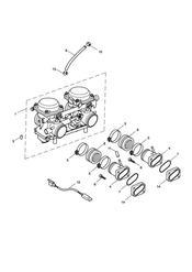 triumph motorcycle  AMERICA (Carbs) triumph parts section Carburettors